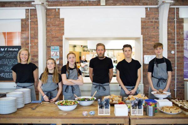 The Surplus Kitchen: a pop up café on a mission