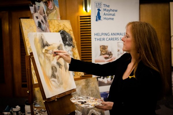 Prince's pawtrait for sale following great news