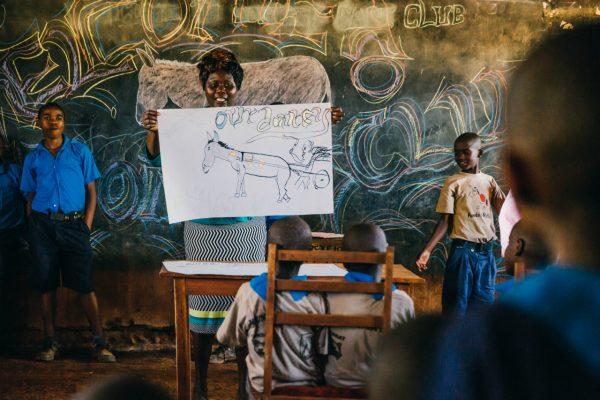 School Children In Kenya Change Lives Through 'Donkey Care Club'