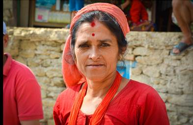 Meet the 52 year old Female Mason Helping to Rebuild Nepal
