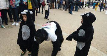 """Gorilla Man"" completes London Marathon after 6 days"