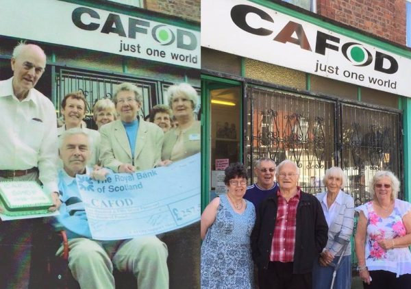The story of the 24-year-old charity shop that continues to glue the community together