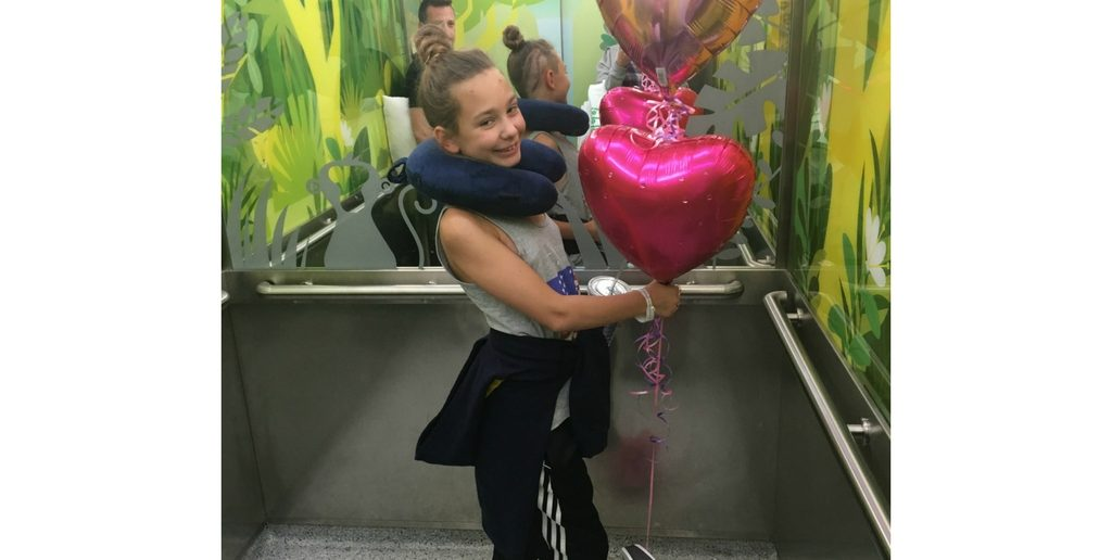 Ten Year Old Lola Beats Brain Tumour in Time to Start School in September