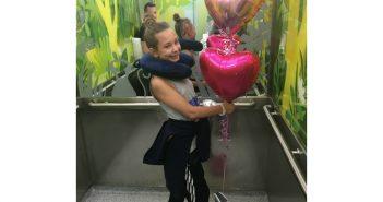 Ten Year Old Lola Beats Brain Tumour in Time to Start School in September