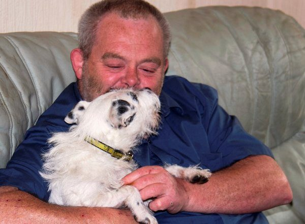 My rescue dogs rescued me – he's a life saver