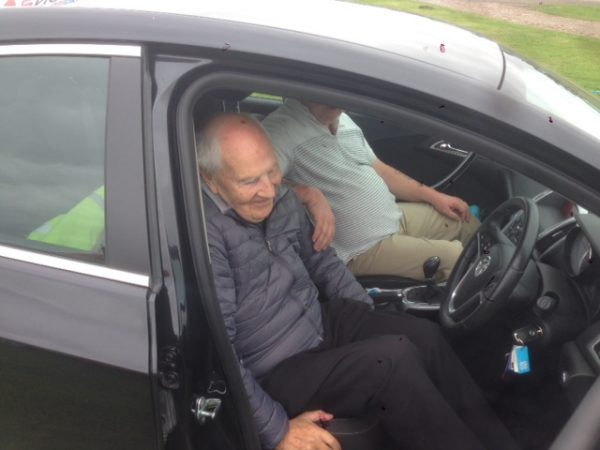 Blind and Partially sighted Charity Members Given Thrilling Driving Experience of a Lifetime