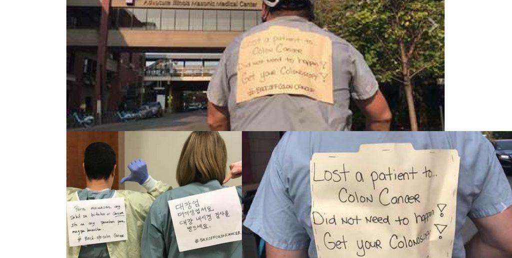Chicago Doctor Inspires Global Movement: #BackOffColonCancer