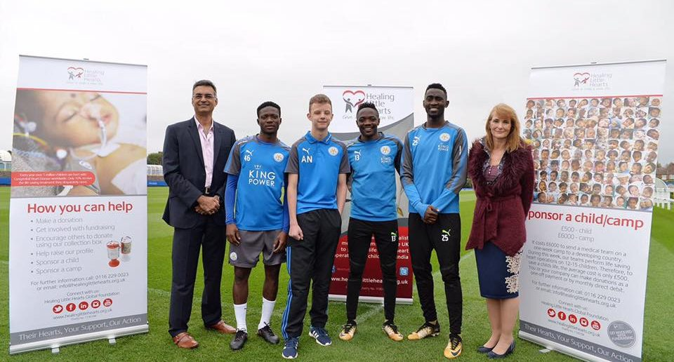 Leicester City Players Back Charity Saving Children's Lives in Nigeria