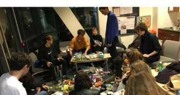 London students distribute care packages to homeless people