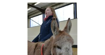 Donkey 'Therapy' Helps Autistic Young Woman Tune Into The World Around Her