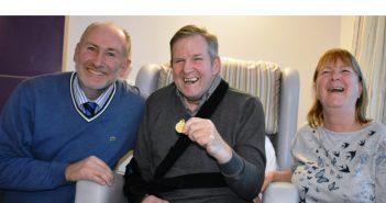 Hospice Patient Meets His Footballing Hero