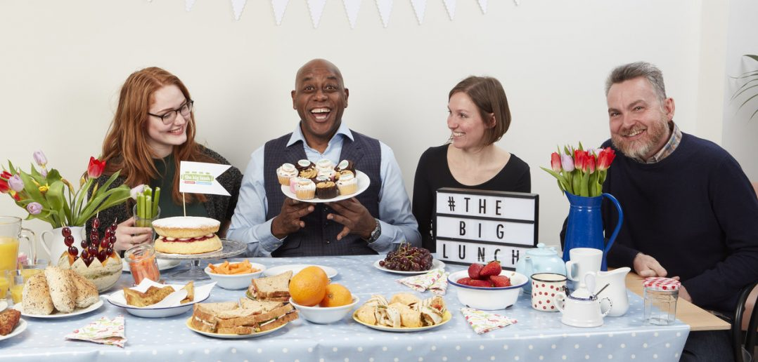 Ainsley Harriott Encourages Everyone to Get Eating and Meeting