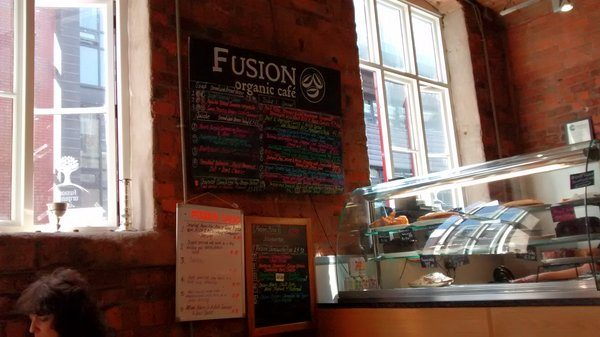 Fusion Organic Café, Sheffield: Tasty Food by Social Enterprise Helping Young People With Learning Disabilities