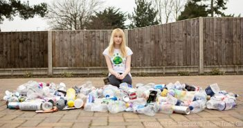 "Meet the 12-Year-Old Eco-Warrior Dubbed ""Trash Girl"""