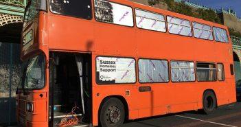 Brighton Bus to Help Homeless People During Royal Wedding