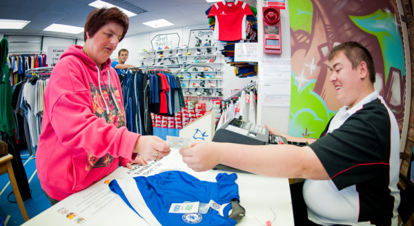 Sports retailer that helps disabled people find employment is chosen as a first investment by the UnLtd Impact Fund