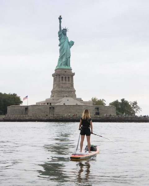 How Paddling 107 Miles Down the Hudson Helps Lizzie Carr Clean the Oceans