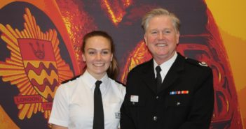 Daughter Follows in Dad's Footsteps and Joins London Fire Brigade, and Encourages Other Women to Take Up Engineering Too