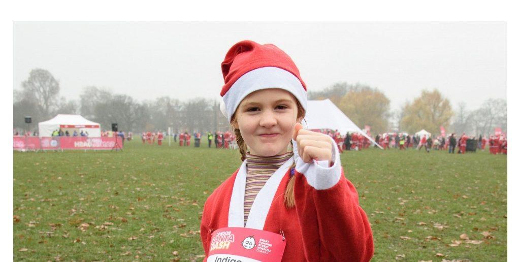 5 Year Old Indigo's Story: From Brain Surgery to London Santa Dash