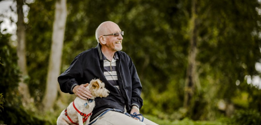 A pet 'could be key to tackling loneliness'