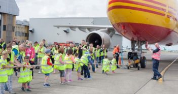 Plane Pull for Children's Cancer Charity Takes Place in Ireland