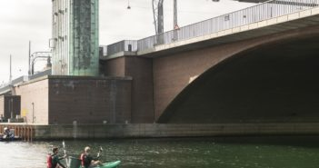 Clean Rivers While Exploring the City on a Kayak