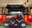 Three off-duty firefighters save man's life using vital first aid skills learnt at work