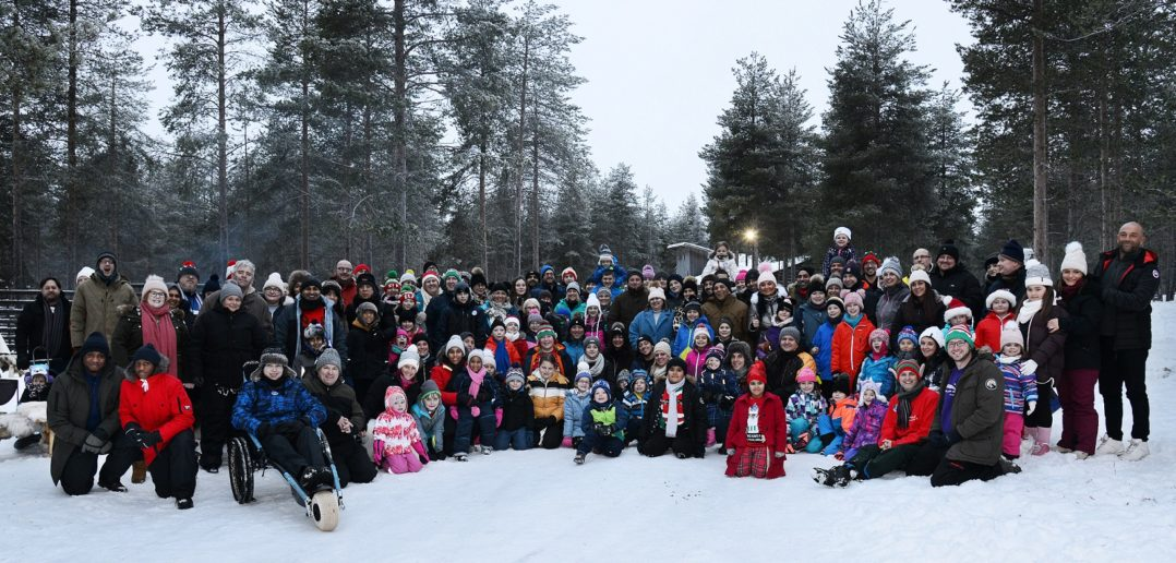 32 Seriously Ill Children Taken on Dream Christmas Trip to Lapland