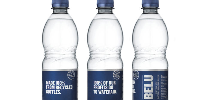 Belu becomes first UK water company to make all plastic bottles from 100% recycled plastic bottles