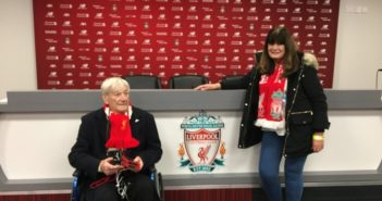 Royal British Legion fulfills terminally-ill veteran's wish to watch Liverpool FC