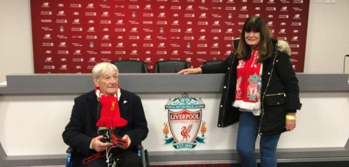 Royal British Legion fulfills terminally-ill veteran's wish to watch Liverpool FC