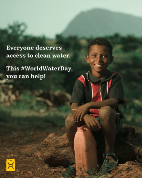 1 in 10 Don't Have Access to Clean Water. Help Change This Without Leaving Your Home.
