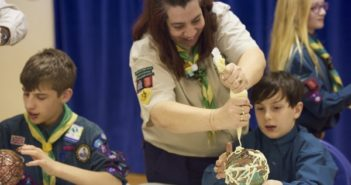 Scouts Provide Support and Activities to Quarantined Families