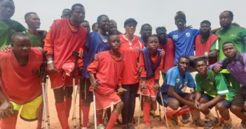 Gambia Amputee Football Team Celebrates First Anniversary
