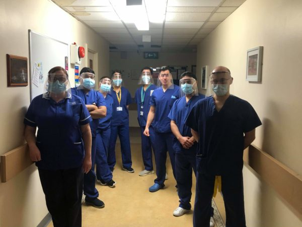 High School Student Makes 3D Printed Face Shields for NHS Workers