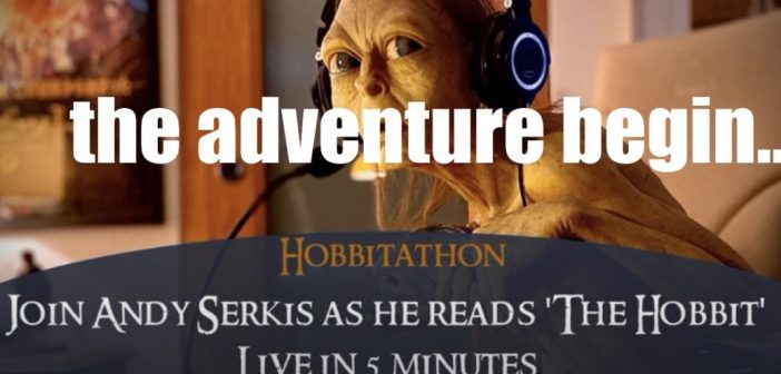"""That's what we wants now, yes; we wants it!"": Andy Serkis' 12-hour Hobbit reading marathon fundraiser"