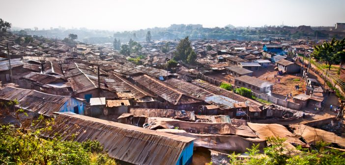 The Lunchbowl Network: feeding families in the largest urban slum in Africa.