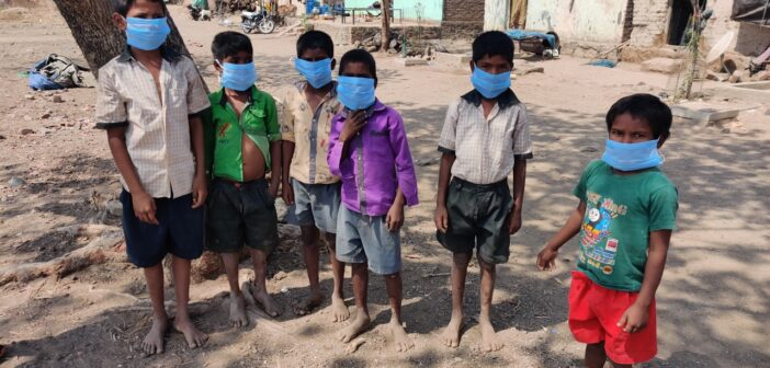Charity Donates 10,000 Masks to Remote Villages in India to Help Fight Covid-19