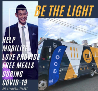 Jeremy Lin kickstarts #BETHELIGHT campaign to provide San Francisco residents with free meals during lockdown