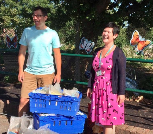 Muswell Hill Food Bank Parcel Scheme Supplies Hundreds of Schoolchildren with Food Bundles