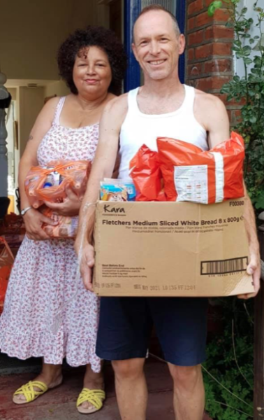MHF Parcel Scheme Supplies Hundreds of Schoolchildren with Food Bundles