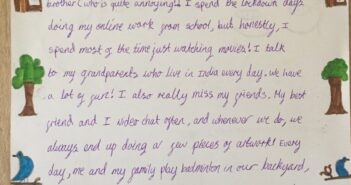 16-Year-Old Student Gets Thousands of Primary School Children to Write to Lonely Care Home Residents