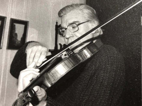 The maestro developed his passion for music after attending lessons for six pence a session