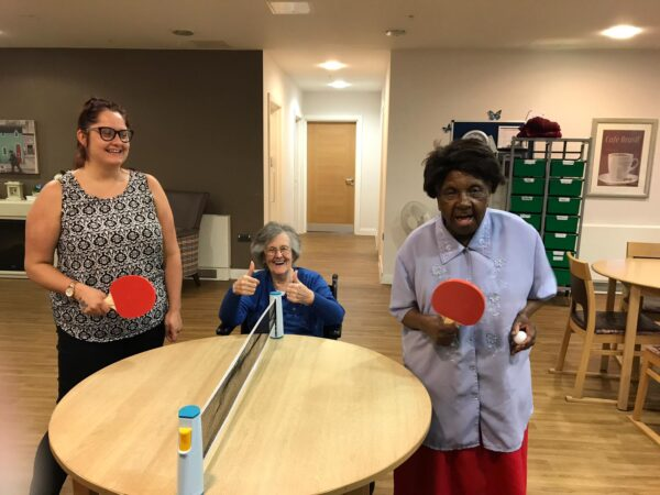 Training program launched to help people who access social care to enjoy table tennis
