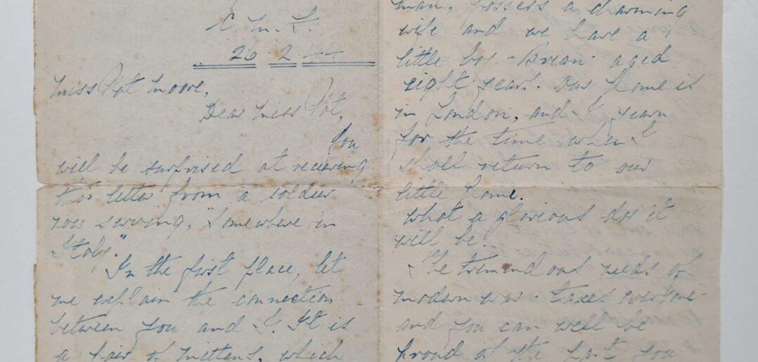 LOST WORLD WAR TWO LETTER FINALLY REACHES FAMILY AFTER 76 YEARS