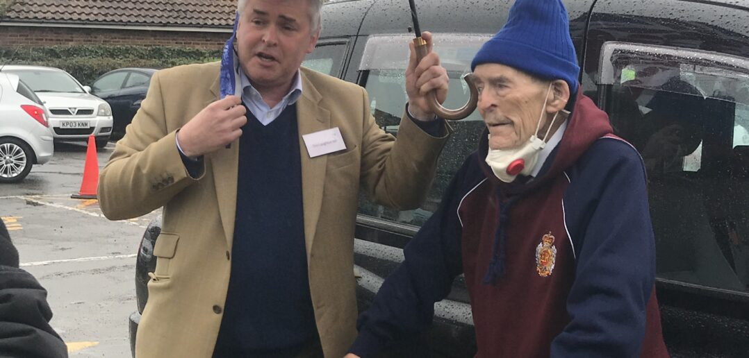 London Black Cabbies Are Taking WWII Veterans to Covid Vaccination Clinics for Free
