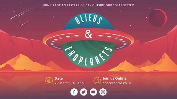 Free Space Craft Fun This Easter for Kids!