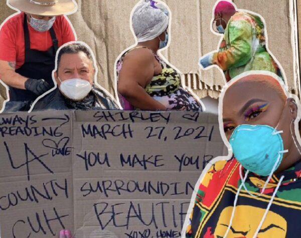 'Beauty 2 The Streetz': The TikToker Empowering LA's Homeless People