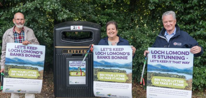 Bonnie Banks of Loch Lomond Sees Litter Battle Success